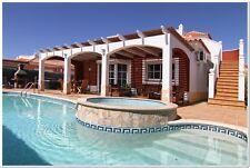 4 bed 8 Person Luxury Villa Caleta De Fuste Fuerteventura May Bank Hol HOT TUB