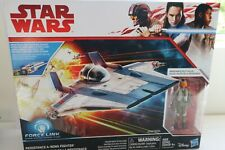A-Wing, Star Wars - Force Link - Last Jedi - Vehicle - Hasbro - New
