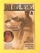 Dark Horse Presents Serenity #1 Joss Whedon Firefly Adam Hughes