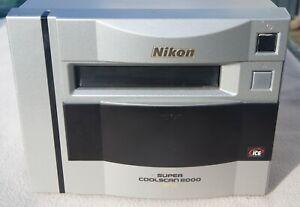 Nikon Coolscan 8000 ED Scanner, Service erfolgt, Spiegel gereinigt