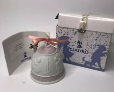 Lladro Christmas Bell - 1996 Ornament - Brand New In Box - Ribbon Included