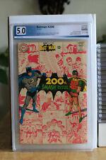 Batman #200 - PGX 5..0 - Neal Adams + Joker + Penguin + Scarecrow - WOW!