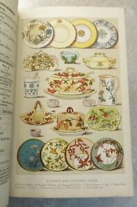 1893 MRS BEETONS BOOK OF HOUSEHOLD MANAGEMENT 13 COLOURED COOKERY PLATES
