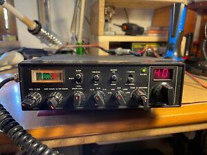 Radio CB Lafayette Hurricane AM FM SSB microfono originale