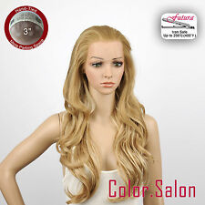 "HAND TIED 3"" Flesh LACE FRONT WIGS Blondes Wavy Super Long 92L(3)#234F613F"