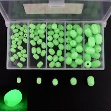 Glow In The Dark Luminous Oval Rig Beads Assortment Night Fishing Tackles Tool