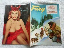 FURY Magazine-JUNE,1957-SEX-MAD GIRL GANGS