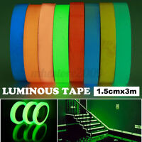 9.8ft Luminous Tape Self Adhesive Glow In The Dark Wall Sticker Tape Saftey Film