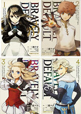 New DHL 3-7 Days to USA. Bravely Default Flying Fairy Vol.1-4 Set Japanese Manga