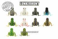 Lunkerhunt Popping Frog Popper Hollow Body Topwater 2.25in 1/2oz - Pick