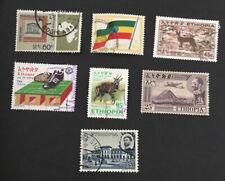 Äthiopien Ethopia used stamp lot
