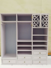 FR fashion royalty 1:6 scale Dolls furniture closet Wardrobe