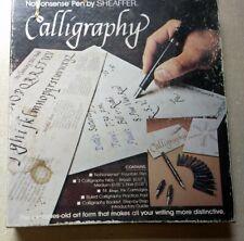 Sheaffer No Nonsense Caligraphy Kit 1 Pen, 3 Nibs, Instruction booklet #72261