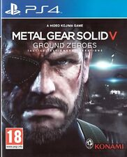 Metal Gear Solid V: Ground Zeroes Sony Playstation 4 PS4 18+ Action Game