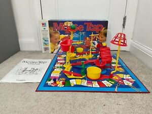 Mousetrap 1996 Big Box Vintage Board Game MB Games 100% Complete w/ Instructions