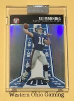 2004 Topps Pristine Eli Manning #87 Rookie Card RC Uncirculated Refractor /1099