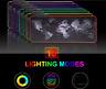 Tapis de souris gamer RGB XXL caoutchouc waterproof ordinateur rétroéclairé
