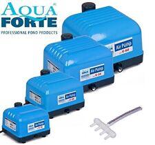 AquaForte Hi-flow V-30 Teichbelüfter Sauerstoffpumpe für den Teich