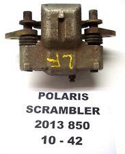 POLARIS 2013 SCRAMBLER 850 4X4 ATV LEFT FRONT CALIPER FOR PARTS 1911150 10-42