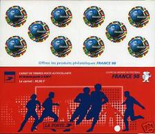 CARNET NEUF XX NON PLIE FRANCE FOOTBALL  MONDIAL 98 BC 3140 - PROMOTION !