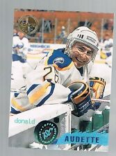 DONALD AUDETTE #54 SABERS 1995/96 topps stadium club members only