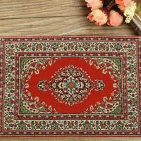 1:12 Miniature Woven Carpet Turkish Rug For Doll House Accessory Hot Decora V2H4