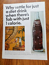 1965 Tab Coca-Cola Soda Ad Why Settle for Just a Diet Drink