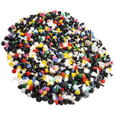 1000 Colorful Car DoorBumper Fenders Rivet Retainer Push Pin Clips(Fits: More than one vehicle)