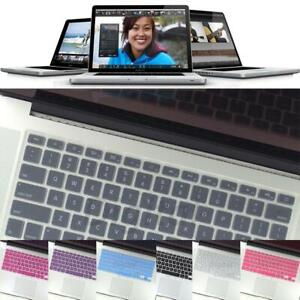 Waterproof Silicone Keyboard Cover Case For MacBook Pro 13 15 17 Retina Air