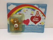 """1984 Care Bears """"Tenderheart Bear"""" Listening To A Friendly Star In Box By Kenner"""