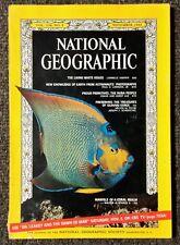 National Geographic magazine November 1966 White House, Earth from Orbit, Nuba