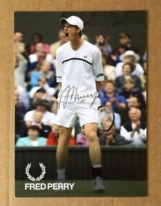 Andy Murray Tennis Legend Autographed Signed Photocard + COA