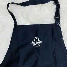 Arby's Restaurant Black short employee apron uniform