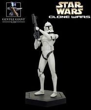 Star Wars Clone Wars White Clone Trooper Animated Maquette by Gentle Giant