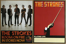 The Strokes Rare 2003 Double Sided Promo Tour Poster for Room fire Cd Usa 18x24
