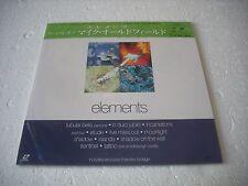 MIKE OLDFIELD / ELEMENTS  Japan Laserdisc