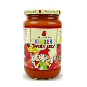 (8,21 EUR/l) Zwergenwiese Kinder Tomatensauce bio 340 ml