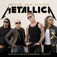 SOUND AND VISION (CD+DVD)  by METALLICA  Compact Disc Double  CDDVD47