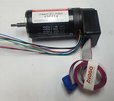 NEW!  MAXON EC MOTOR 136114 with HEDL 5540 A11 Encoder