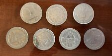Lot of 7 Assorted Hotel Casino Token $1 Coins Carnival, Bonanza, Maho, Lucayan