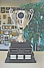 3 TIER LARGE FANTASY HOCKEY FHL CUP PERPETUAL AWARD 38 YEARS MDAK113A