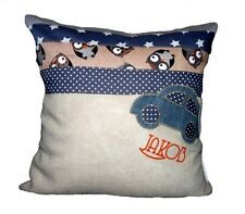 Babykissen personalisiert Taufe Geburtstag Geburt Kissen Decke Baby pillow Car