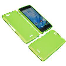 Getaway bag-to Wiko handytasche Smartphone Protective Case TPU Gummi Green