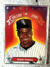 1992 Donruss Gallery Of Stars #GS-12 Frank Thomas Chicago White Sox