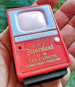 Rare Vtg Disneyland Slideshow Viewer Scenes Frontierland Adventure + & Miniature