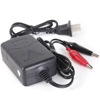 Motorcycle Rechargeable Smart Battery Charger Tender Maintainer Car 12V   W
