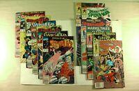 Lot of 12 Marvel Comics Sleepwalker Deadly Foes of Spider-Man Marvel Tales