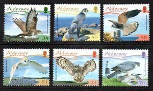 Alderney Stamps 2008 SG A336-A341 Resident Birds (3rd Series)  Mint MNH
