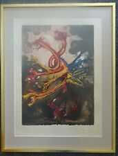 Salvador Dali - The Hydras (1974) - Signed & Stamped Ltd Ed 57/195 Lithograph