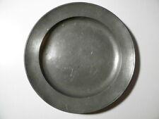Antiker Zinn-Teller - Marke: HESS in GERA - datiert 1838 - D=23,5cm